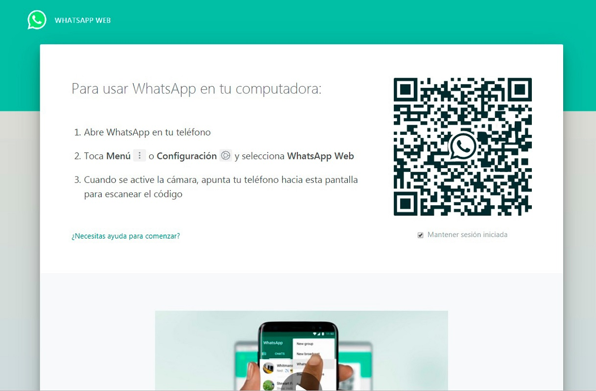 WhatsApp Web Videollamadas