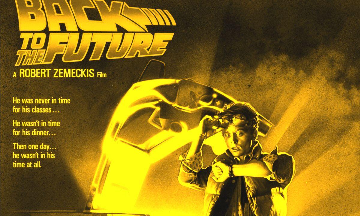 Back to the Future Póster Perdido