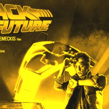 Back to the Future Póster Perdido