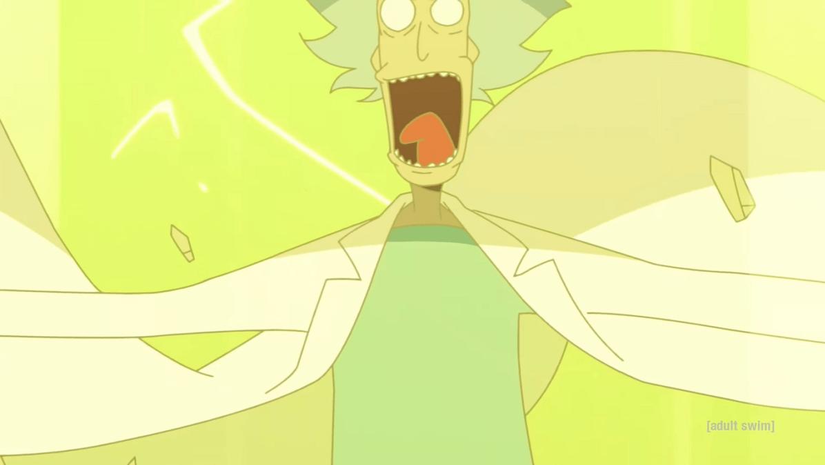 Corto Anime Rick and Morty