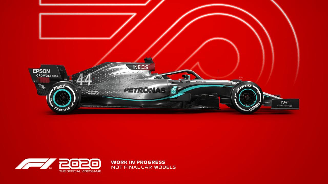 Portada el Videojuego F1 2020