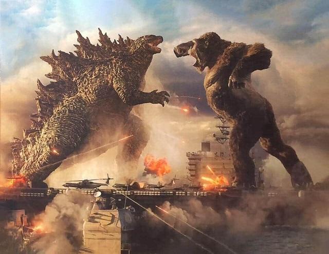 Filtran Nueva Imagen Godzilla vs Kong