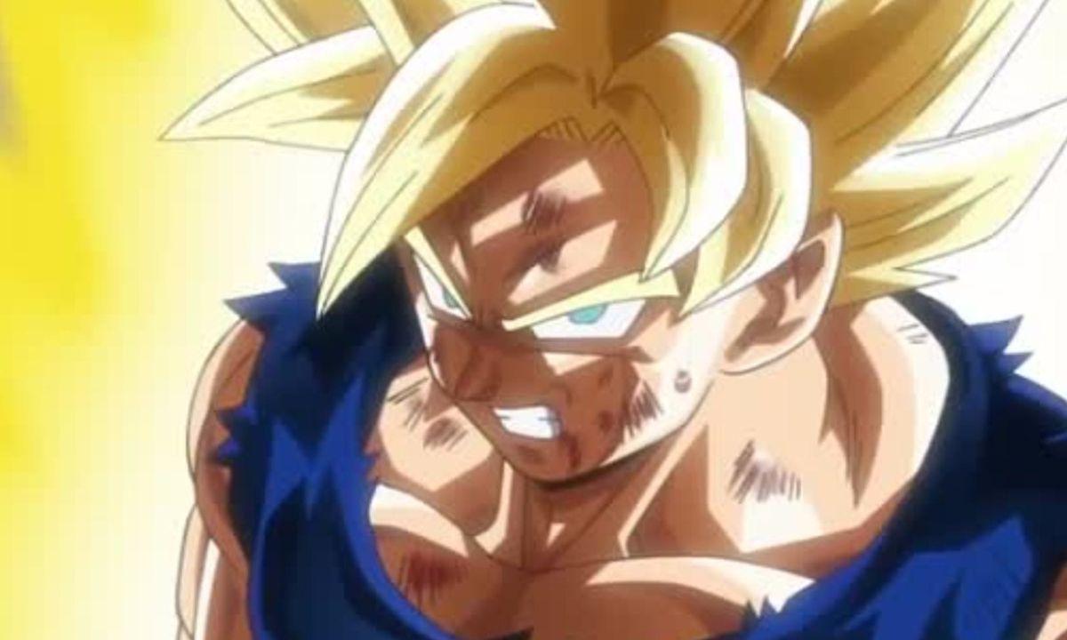 Goku Super Saiyajin 1 Dragon Ball Z