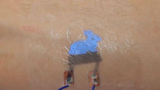 Google Tatuajes Inteligentes Piel