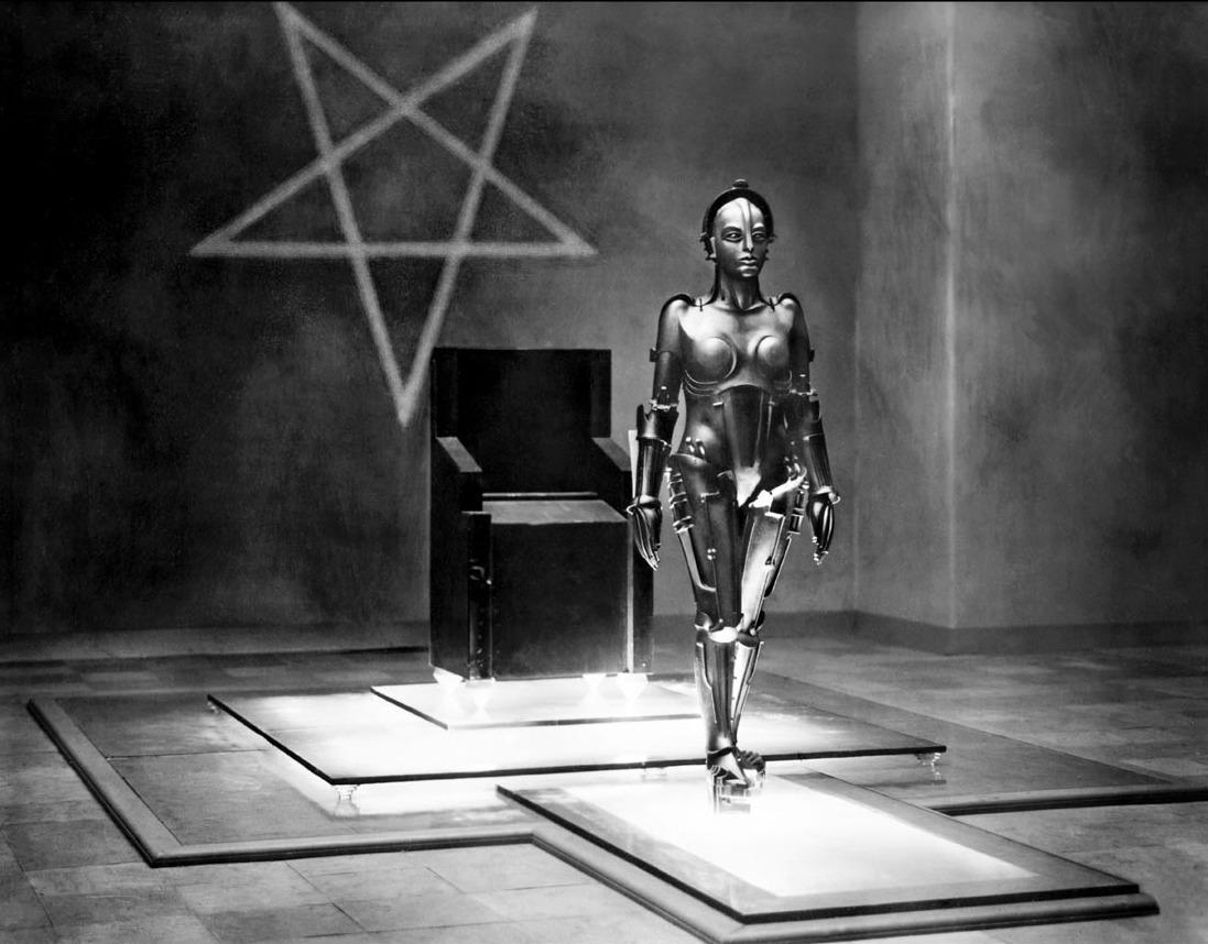 Fotograma de la inteligencia artificial en Metropolis