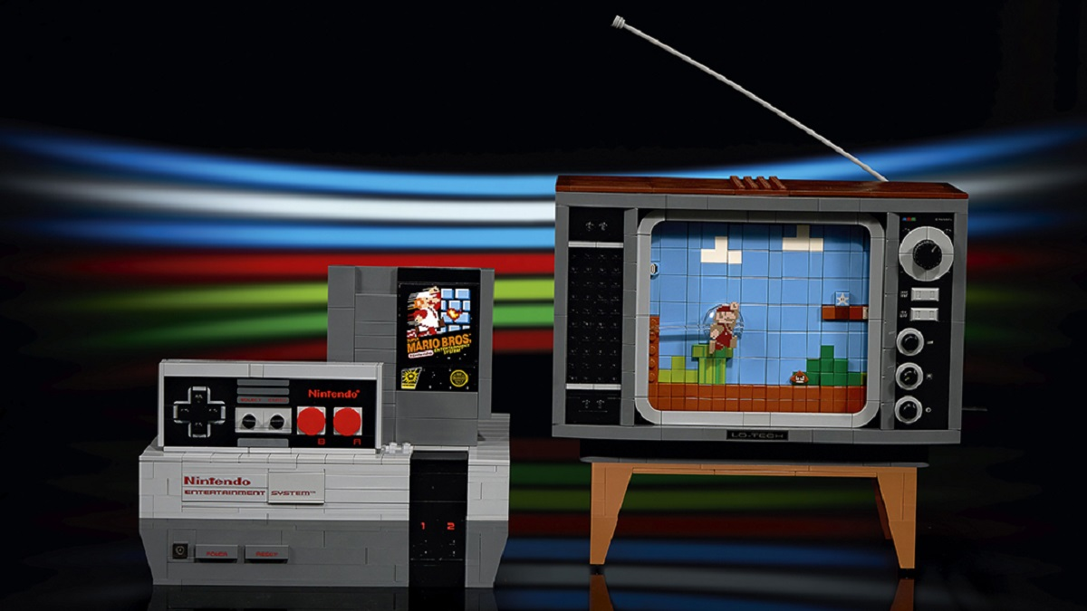 LEGO NES Super Mario Bros