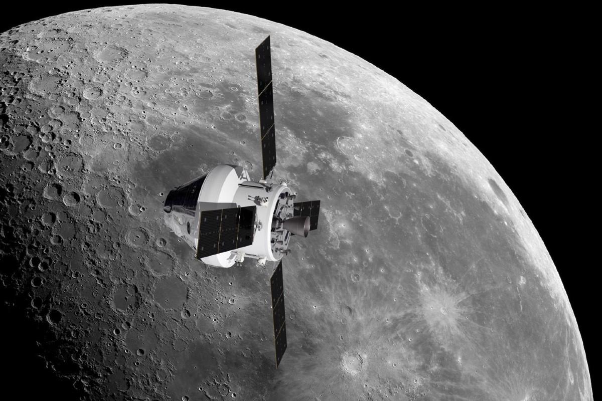 NASA Metal Luna
