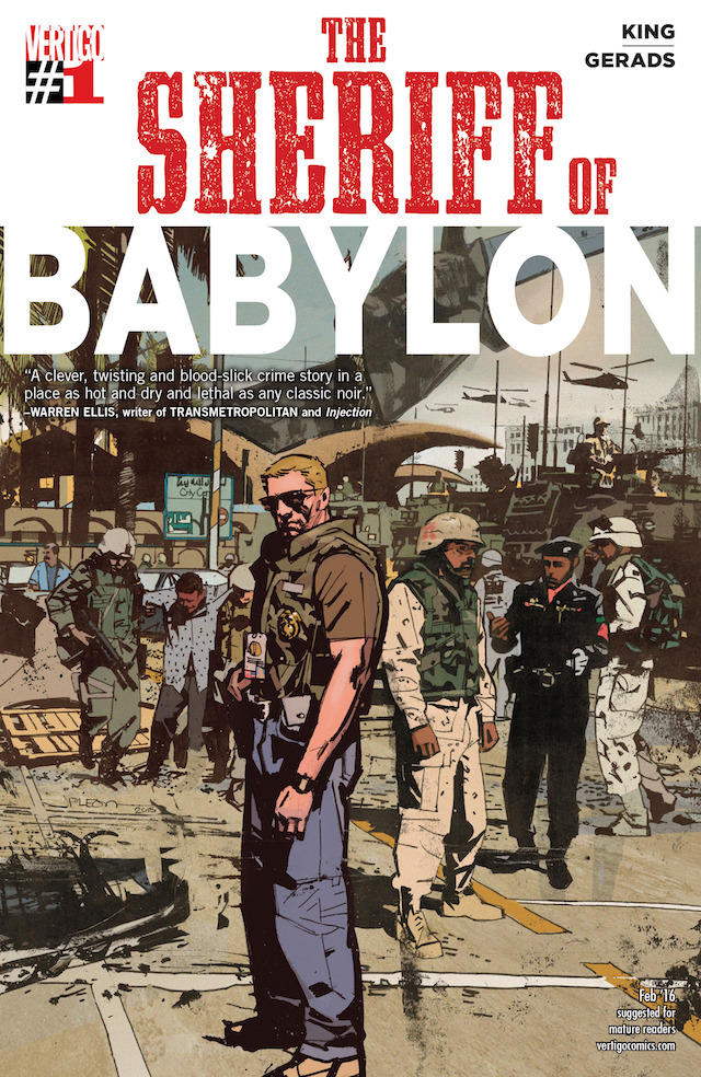 The Sheriff Of Babylon, Portada, Imagen