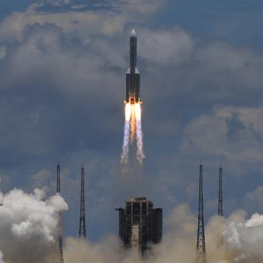 Fotografía Misión china Tianwen-1 despega rumbo a Marte