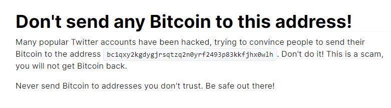 Bitcoin, Estafa, Twitter, Hackeo