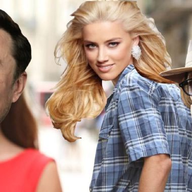 Johnny Depp, Amber Heard, Elon Musk, James Franco