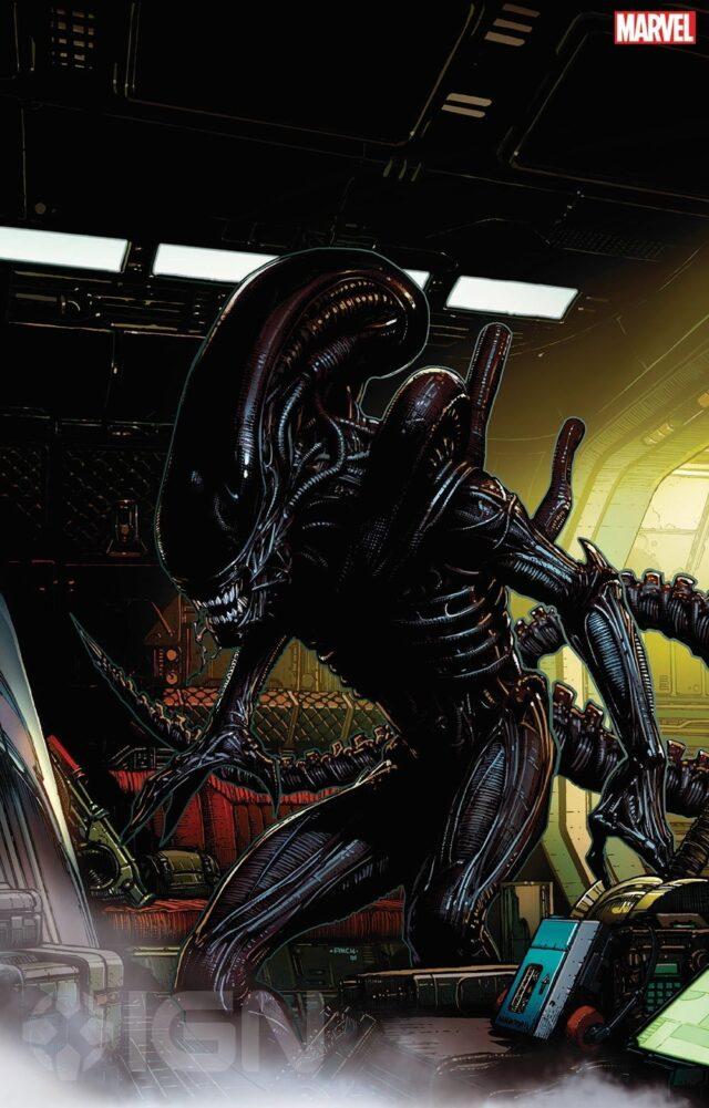 Marvel Alien Xenomorpho Comic