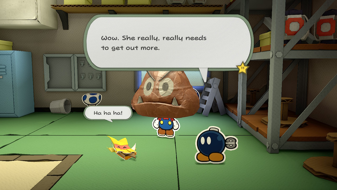 Paper Mario The Origami King, Paper Mario Olivia, Paper Mario