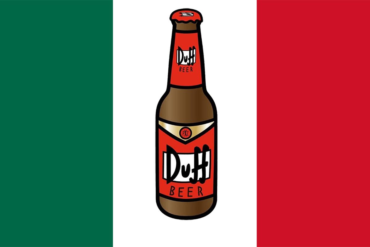 Cerveza Duff Mexico