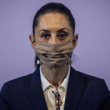 Claudia Sheinbaum tendría Covid-19