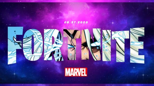 Fortnite skin Thor Marvel