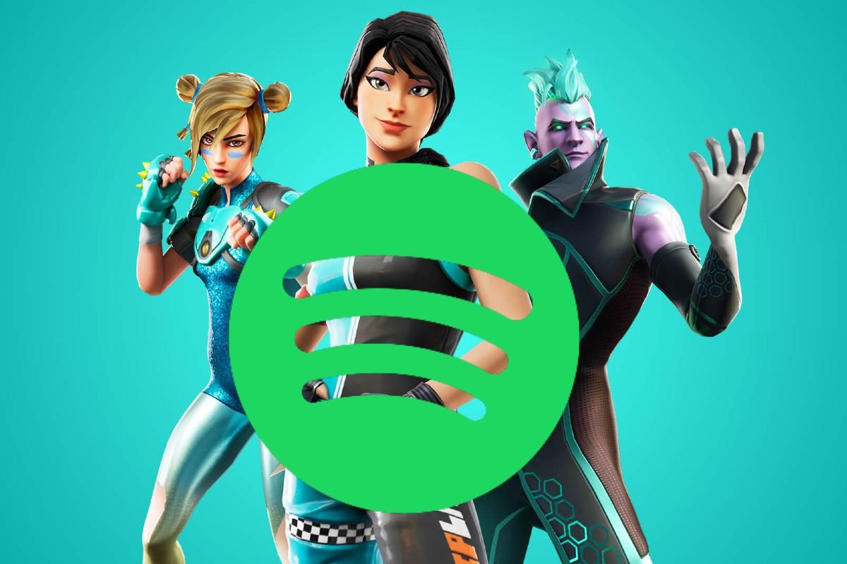 Spotify Epic Games Apple Fortnite
