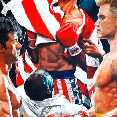 Sylvester Stallone Rocky IV Directors Cut