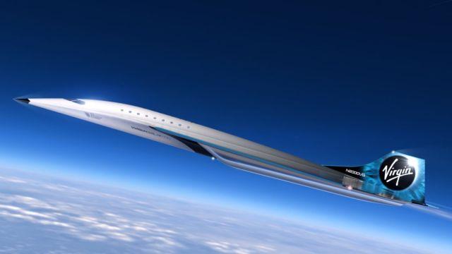 Virgin Galactic Avión Supersónico Nueva York