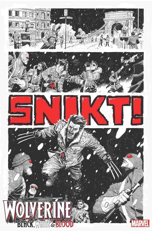 Wolverine Blackwhite and Blood Nuevo Comic