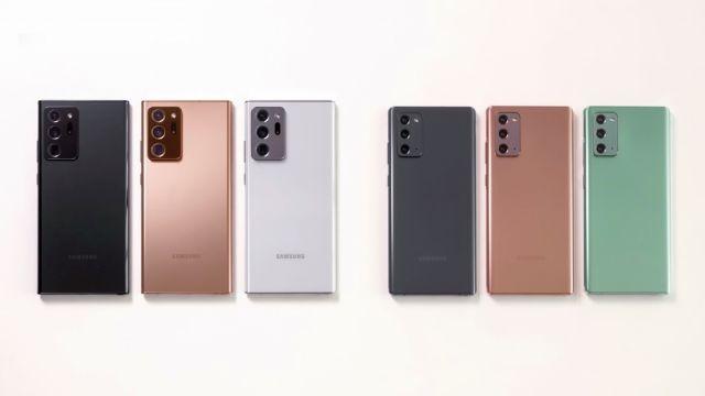 Empieza la preventa de Samsung Galaxy Note 20 en México