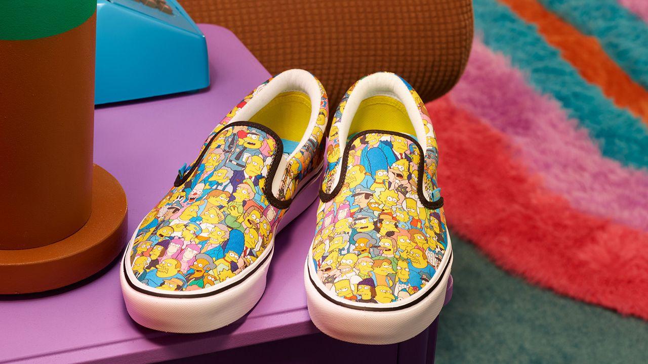 Llega la colección de Vans y Los Simpson: Vans x Simpsons