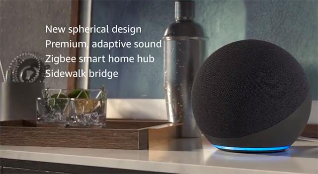 Amazon Echo con Amazon Sidewalk