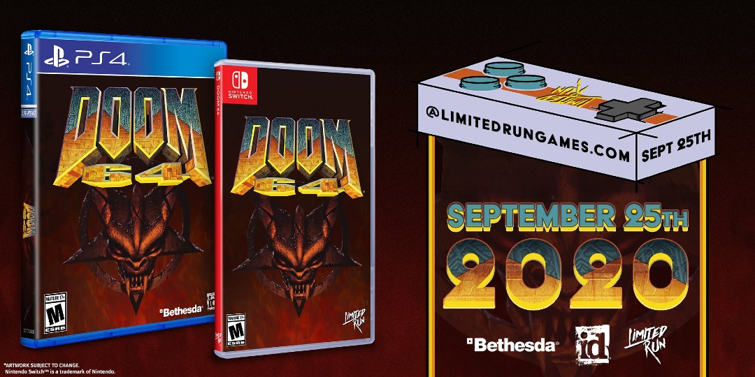 Doom 64 PS4 Nintendo Switch