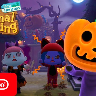 Halloween Animal Crossing New Horizons