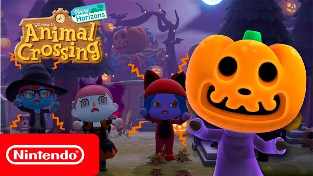 Halloween Animal Crossing New Horizons