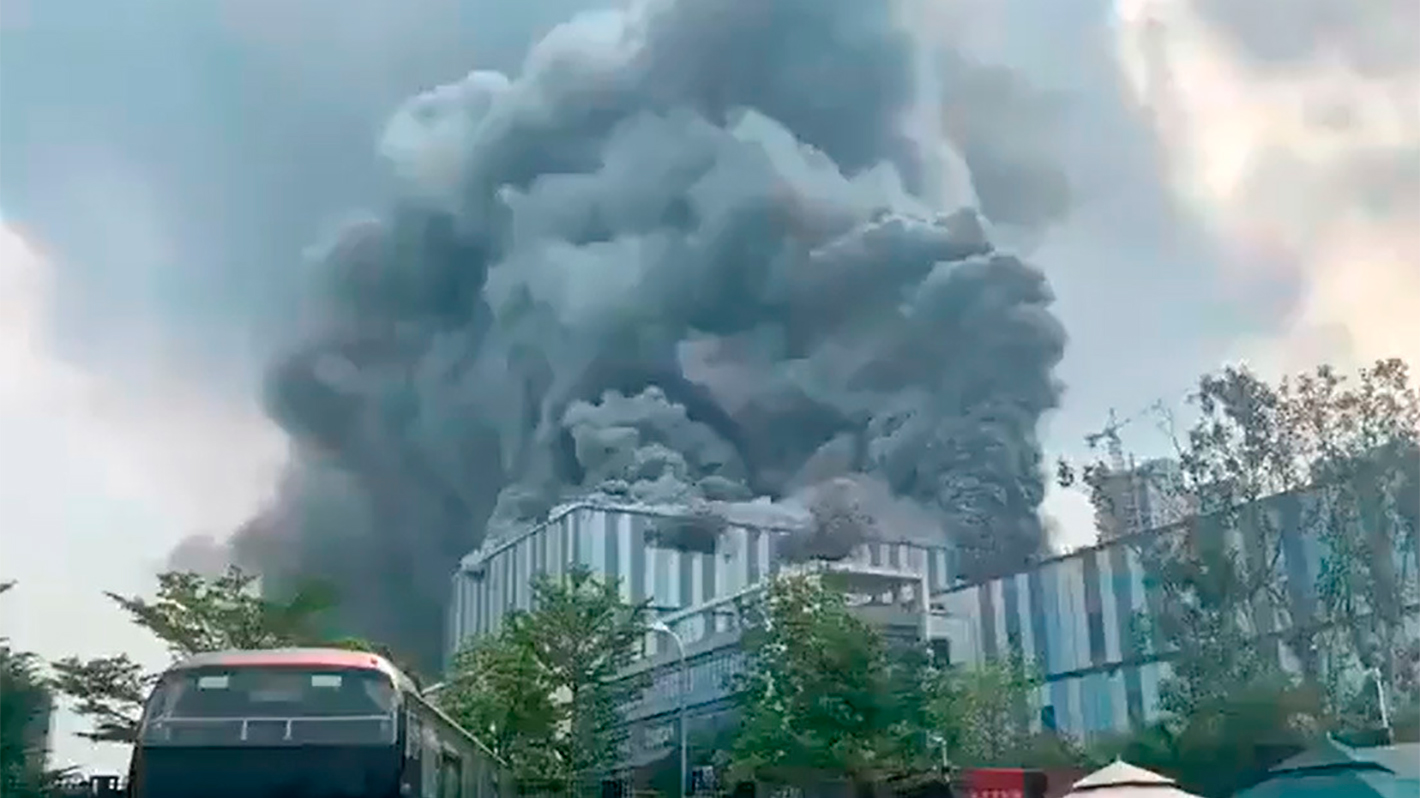 Se incendia laboratorio de desarrollo de Huawei en China