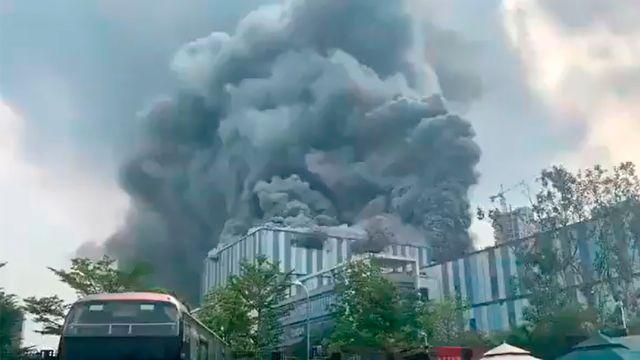 Huawei-incendio-en-laboratorio-de-china