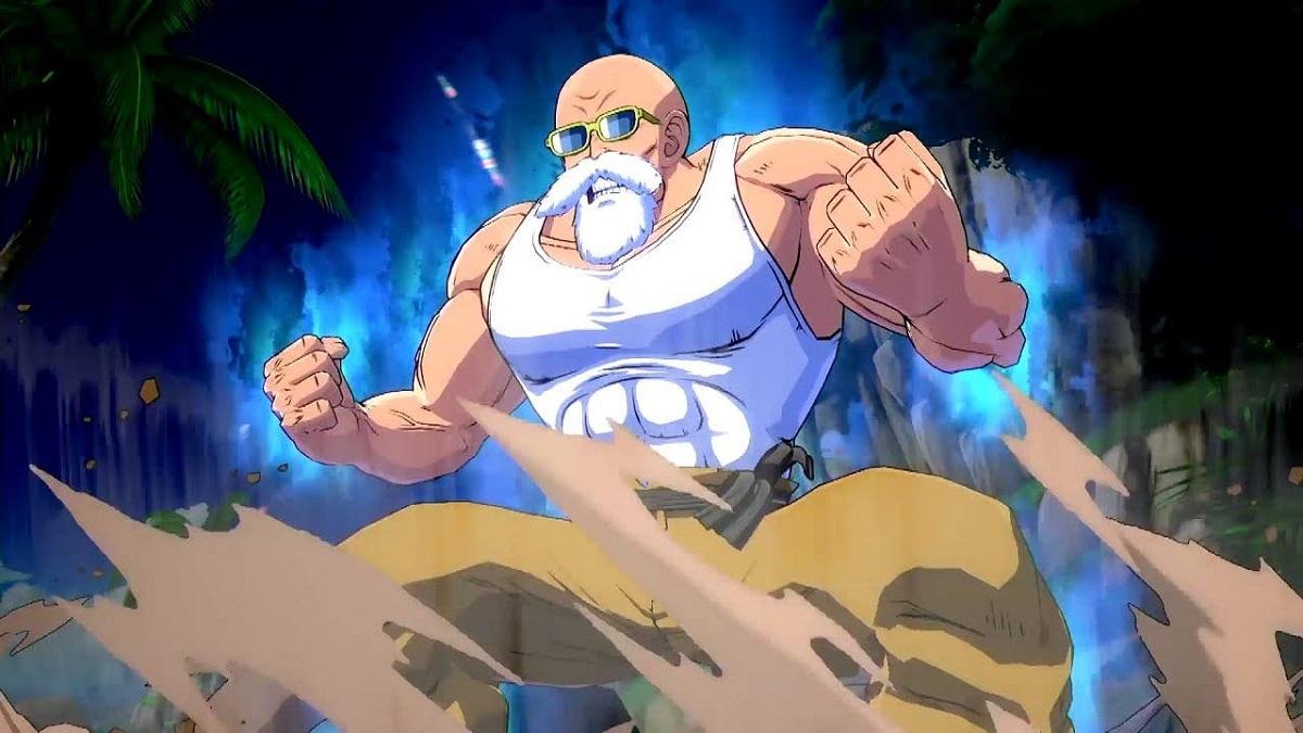 Maestro Roshi Dragon Ball FighterZ Tráiler