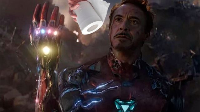 Robert Downey Jr papel higiénico