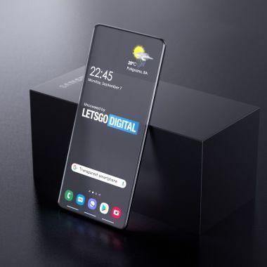 Samsung Smartphone Transparente