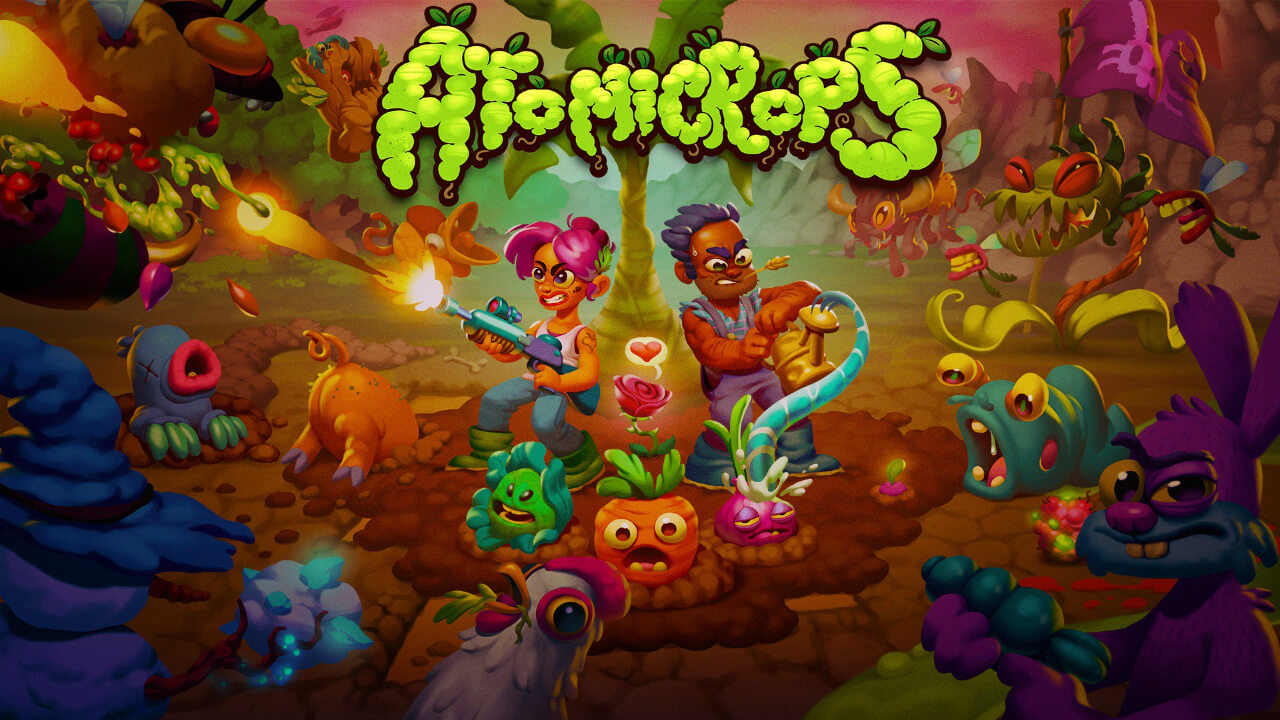 Reseña: Atomicrops - un caótico y divertido shooter de farmeo