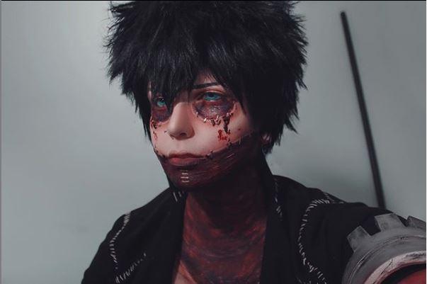 Boku no Hero: el mejor cosplay de Dabi de la Asociación de Villanos