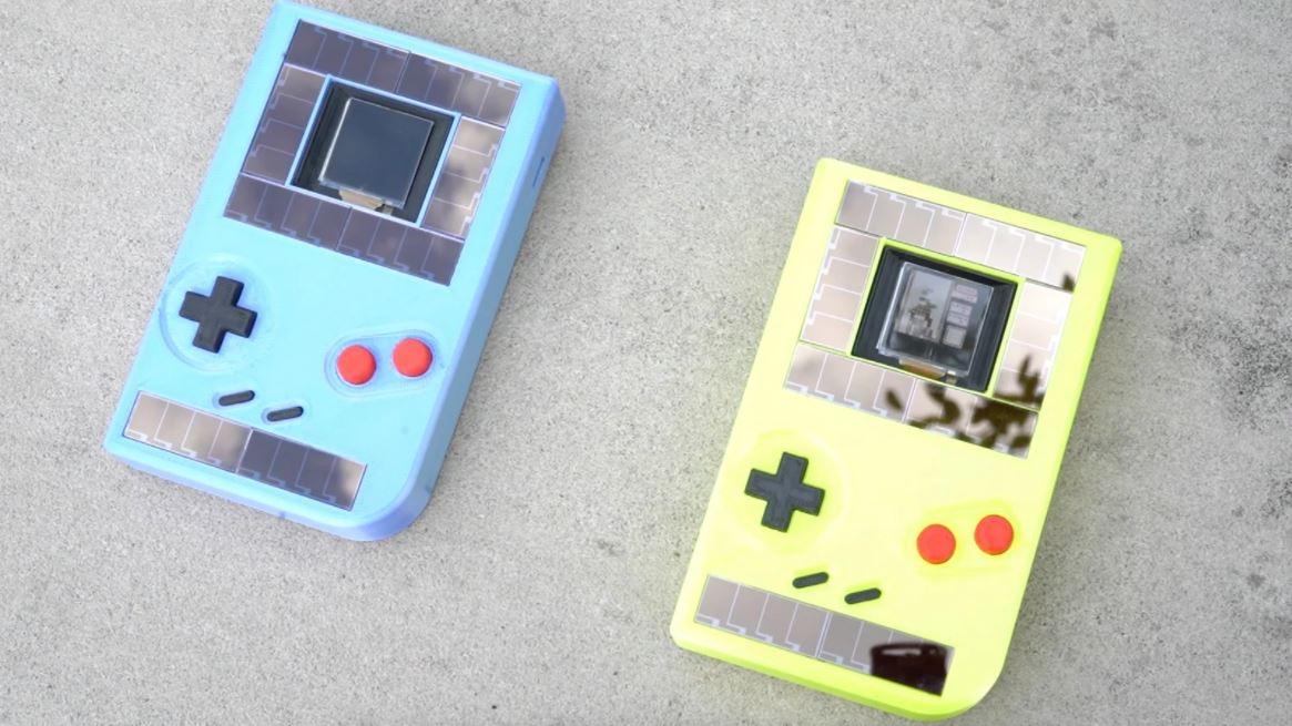 Crean Game Boy que funciona sin baterías