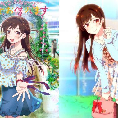Kanojo Okarishimasu: coplayer #1 de japón hace cosplay de Chizuru Mizuhara
