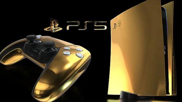 Ya puedes reservar tu PS5 fabricado en oro de 24 quilates