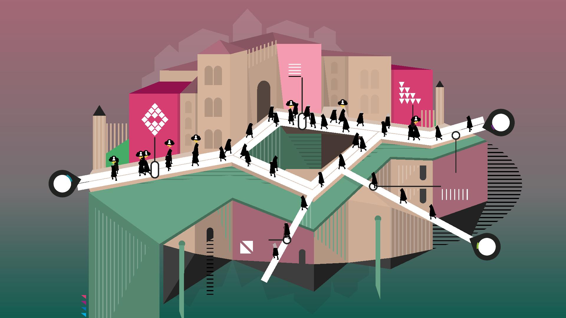 Rip Them Off es un puzzle minimalista que inteligentemente sirve para criticar la codicia corporativa y el capitalismo