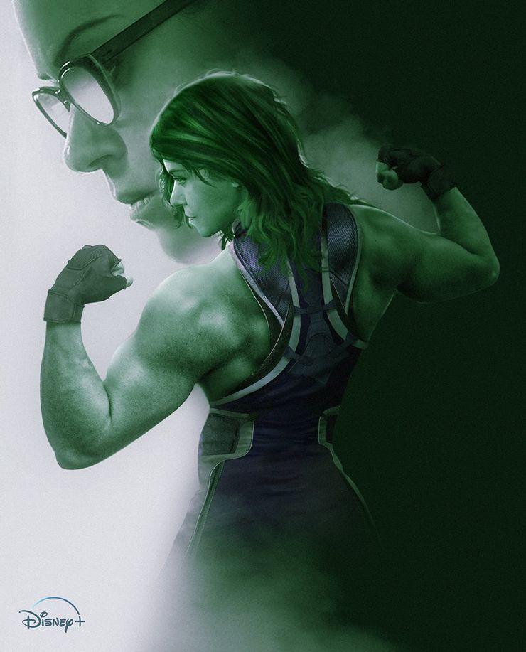 Así se ve el primer arte de Tatiana Maslany como She Hulk para Disney