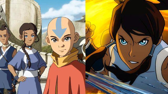 Avatar La Leyenda de Aang y La Leyenda de Korra