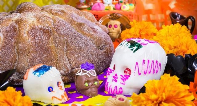 Día de muertos Pan de muertos