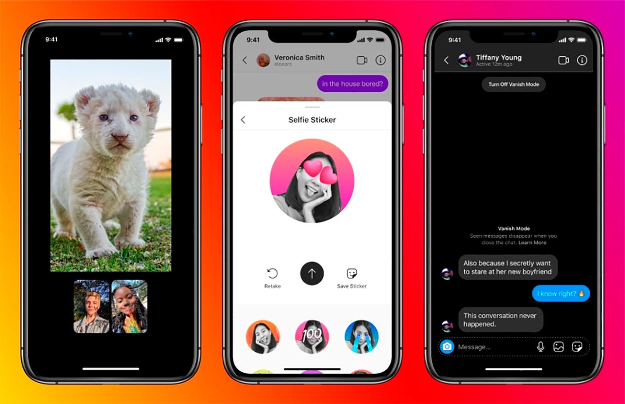 Facebook Messenger e Instagram se funcionaron