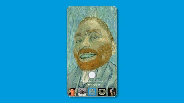 Google Arts & Culture Filtro que te convierte en una obra de arte