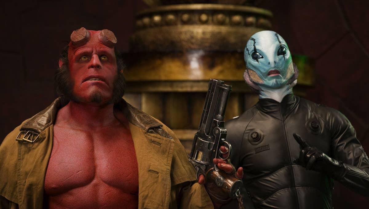 Hellboy Película Guillermo del Toro