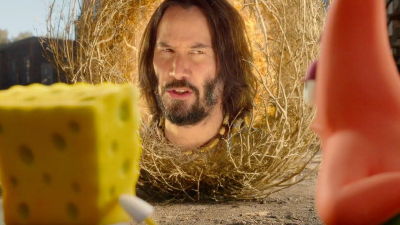 Keanu Reeves Bob Esponja Netflix