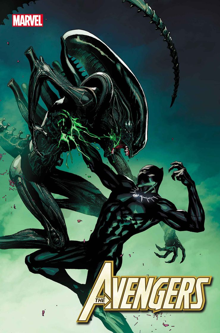 Portada Marvel vs Aliens