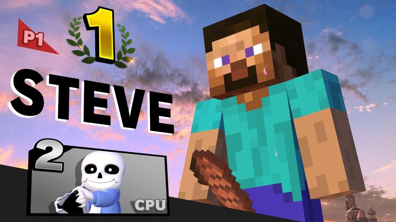 Steve Minecraft Super Smash Bros. Ultimate
